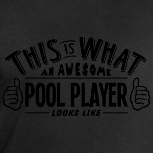 awesome pool player looks like pro desig t-shirt - Men's Sweatshirt by Stanley & Stella