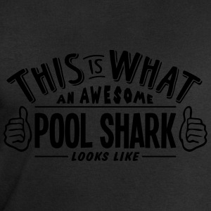 awesome pool shark looks like pro design t-shirt - Men's Sweatshirt by Stanley & Stella