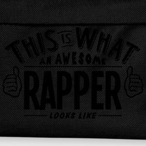 awesome rapper looks like pro design t-shirt - Kids' Backpack