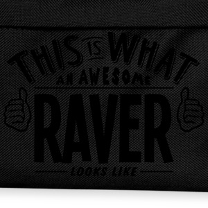 awesome raver looks like pro design t-shirt - Kids' Backpack