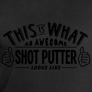 awesome shot putter looks like pro desig t-shirt - Men's Sweatshirt by Stanley & Stella