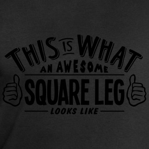 awesome square leg looks like pro design t-shirt - Men's Sweatshirt by Stanley & Stella