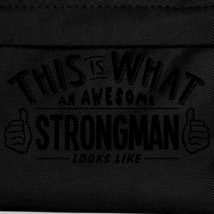 awesome strongman looks like pro design t-shirt - Kids' Backpack