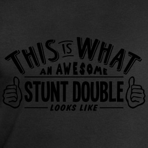 awesome stunt double looks like pro desi t-shirt - Men's Sweatshirt by Stanley & Stella
