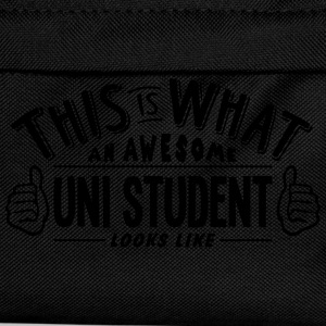 awesome uni student looks like pro desig t-shirt - Kids' Backpack
