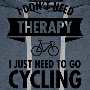 Therapy - Cycling T-skjorter - Premium hettegenser for menn