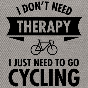 Therapy - Cycling T-Shirts - Snapback Cap