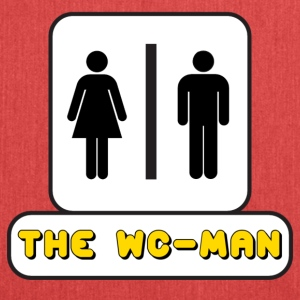 Logo WC-Man YouTube - Borsa in materiale riciclato