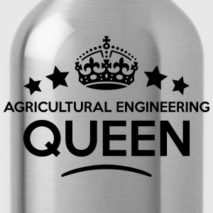 agricultural engineering queen keep calm WOMENS T- - Water Bottle