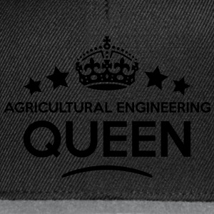 agricultural engineering queen keep calm WOMENS T- - Snapback Cap