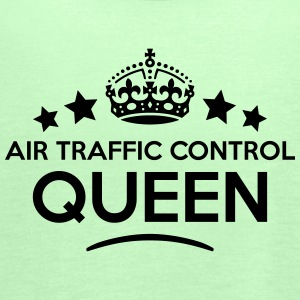 air traffic control queen keep calm styl WOMENS T- - Women's Tank Top by Bella