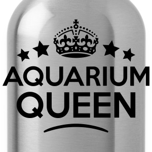 aquarium queen keep calm style WOMENS T-SHIRT - Water Bottle