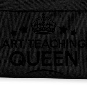 art teaching queen keep calm style WOMENS T-SHIRT - Kids' Backpack