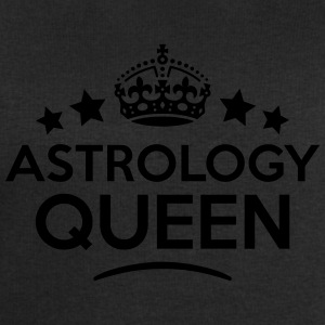 astrology queen keep calm style WOMENS T-SHIRT - Men's Sweatshirt by Stanley & Stella