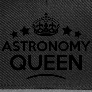 astronomy queen keep calm style WOMENS T-SHIRT - Snapback Cap