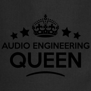 audio engineering queen keep calm style  WOMENS T- - Cooking Apron
