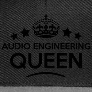 audio engineering queen keep calm style  WOMENS T- - Snapback Cap