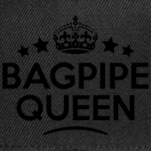 bagpipe queen keep calm style WOMENS T-SHIRT - Snapback Cap