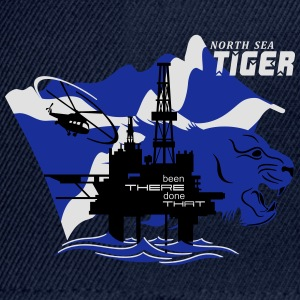 Oil Rig Oil Field North Sea Tiger Aberdeen - Snapback Cap