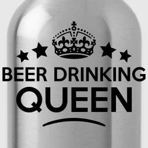 beer drinking queen keep calm style WOMENS T-SHIRT - Water Bottle