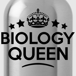 biology queen keep calm style WOMENS T-SHIRT - Water Bottle