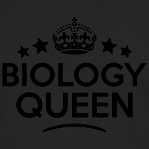 biology queen keep calm style WOMENS T-SHIRT - Men's Premium Longsleeve Shirt