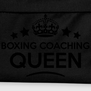 boxing coaching queen keep calm style co WOMENS T- - Kids' Backpack