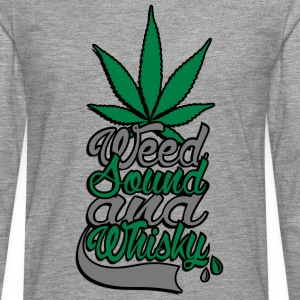 weed sound et whisky Tee shirts - T-shirt manches longues Premium Homme
