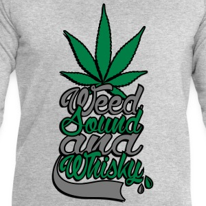 weed sound et whisky Tee shirts - Sweat-shirt Homme Stanley & Stella