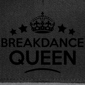 breakdance queen keep calm style WOMENS T-SHIRT - Snapback Cap
