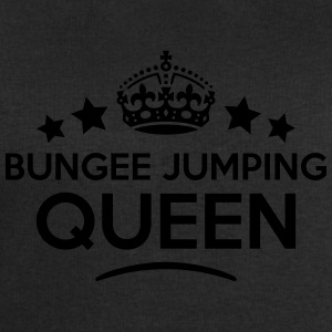 bungee jumping queen keep calm style cop WOMENS T- - Men's Sweatshirt by Stanley & Stella