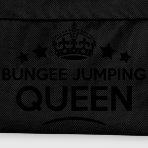 bungee jumping queen keep calm style cop WOMENS T- - Kids' Backpack