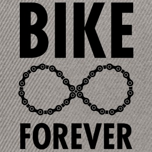 Bike Forever Tee shirts - Casquette snapback