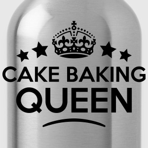 cake baking queen keep calm style WOMENS T-SHIRT - Water Bottle