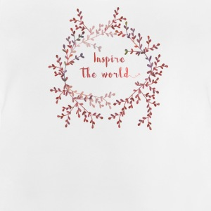 Inspire the world  Skjorter - Baby-T-skjorte