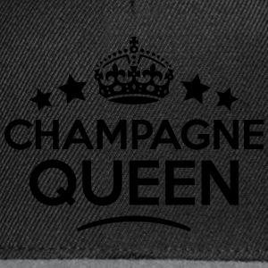 champagne queen keep calm style WOMENS T-SHIRT - Snapback Cap