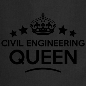 civil engineering queen keep calm style  WOMENS T- - Cooking Apron