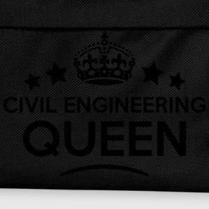 civil engineering queen keep calm style  WOMENS T- - Kids' Backpack