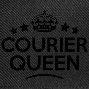 courier queen keep calm style WOMENS T-SHIRT - Snapback Cap