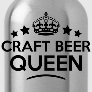 craft beer queen keep calm style WOMENS T-SHIRT - Water Bottle
