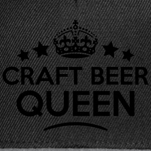 craft beer queen keep calm style WOMENS T-SHIRT - Snapback Cap