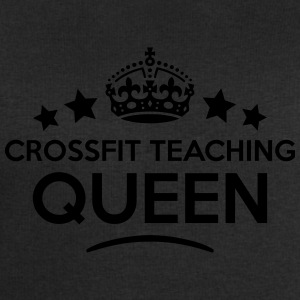 crossfit teaching queen keep calm style  WOMENS T- - Men's Sweatshirt by Stanley & Stella