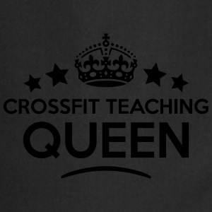 crossfit teaching queen keep calm style  WOMENS T- - Cooking Apron