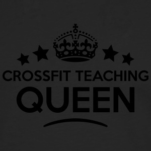 crossfit teaching queen keep calm style  WOMENS T- - Men's Premium Longsleeve Shirt