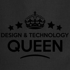 design  technology queen keep calm style WOMENS T- - Cooking Apron