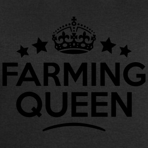 farming queen keep calm style WOMENS T-SHIRT - Men's Sweatshirt by Stanley & Stella