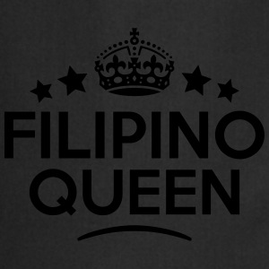 filipino  queen keep calm style WOMENS T-SHIRT - Cooking Apron