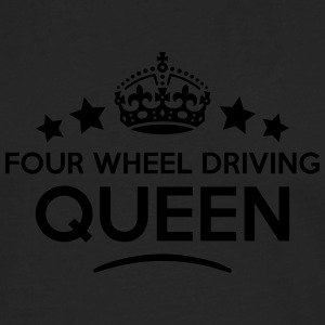 four wheel driving queen keep calm style WOMENS T- - Men's Premium Longsleeve Shirt