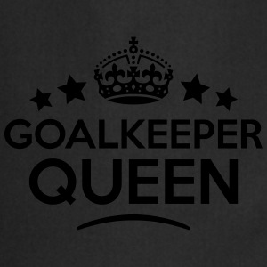 goalkeeper queen keep calm style WOMENS T-SHIRT - Cooking Apron