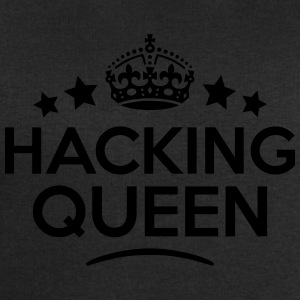 hacking queen keep calm style WOMENS T-SHIRT - Men's Sweatshirt by Stanley & Stella
